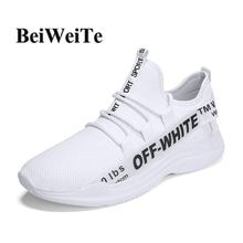 Autumn Sneakers For Men Big Size White Sport Running Shoes Light Walking Breathable Anti-skid Jogging Outdoor Gym Trainer Shoes