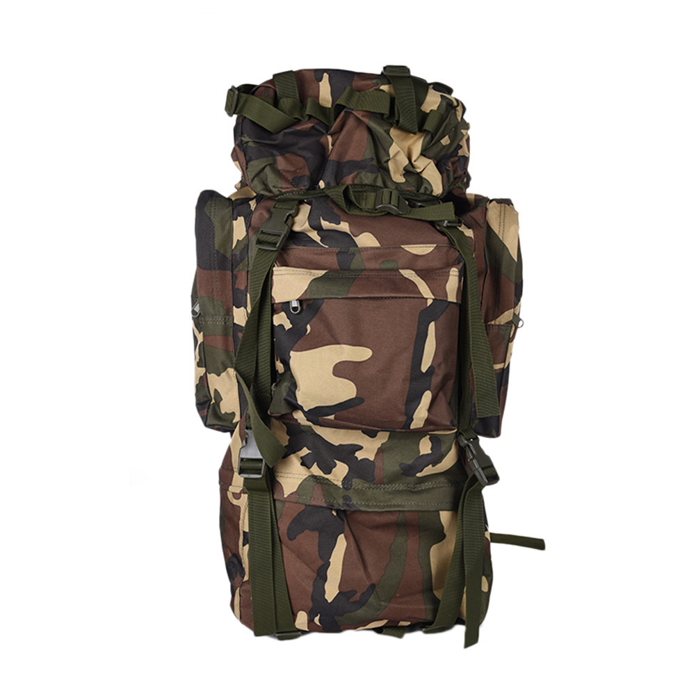 65L Outdoor Sports Mountaineering Camouflage Bag Professional Hiking High Quality Hot Sale Climbing Bag font b