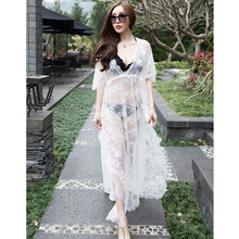 Hot maternity photography props long lace maternity gown photo shoot dresses freesize half sleeve 2color pregnant women wholsale