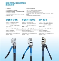 МК-yqsh-70С гидравлические щипцы, щипцы, гидравлический обжимной инструмент