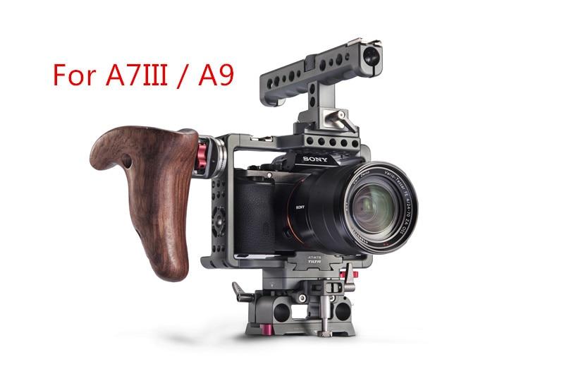 NOUVEAU Tilta ES-T17-A Cage Pour Sony A7 A7S2 A7III A7R3 A7m3 A7S3 A9 Rig Cage Pour SONY A7/A9 série caméra