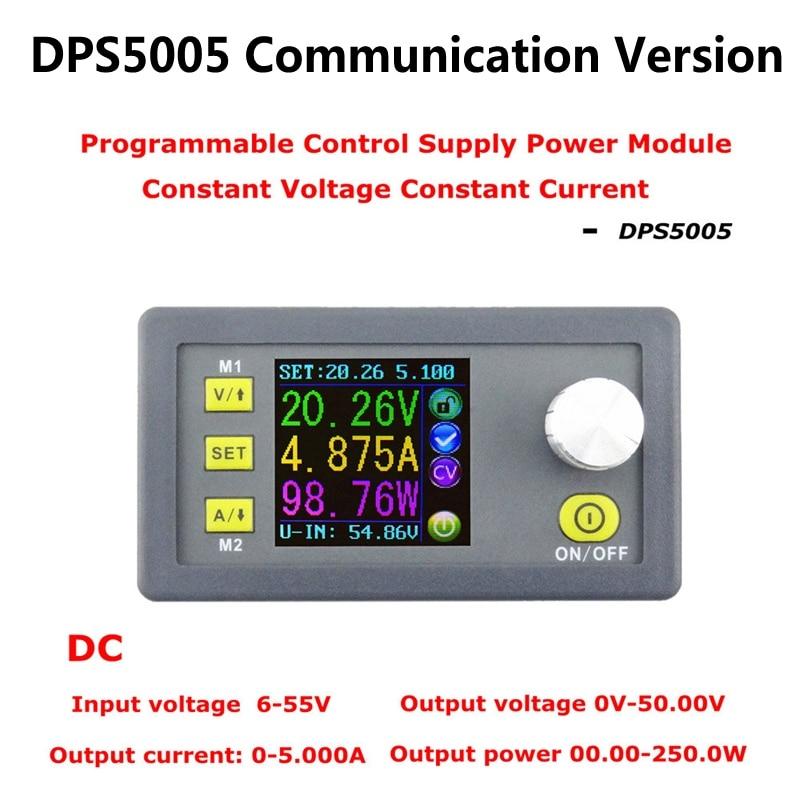 DC DPS5005 зарядное устройство постоянного тока с модулем управления alimentacion programable de voltaje buck convertidor color lcd 50 В