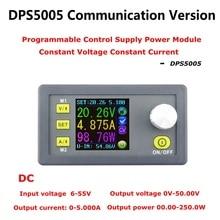 DC DPS5005 voltaje corriente constante de paso bajo modulo de alimentacion programable de voltaje buck convertidor color LCD 50V