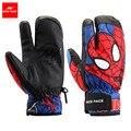 Three Fingers Motorcycle Gloves Cartoon Madman Waterproof Skiing Gloves Snowboard Winter Gloves Windproof Warm Snow Glove S1001