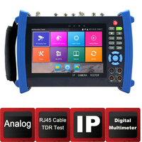 IP Camera tester7 inch Screen Cable Tracer Digital Multimete Optical Power Meter TDR Cable Test RJ45 Cable TDR CCTV Tester
