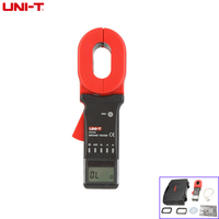 UNI T UT276A Earth Ground Resistance Clamp Ohmmeter Tester 0.01 1200ohm & RS232 Data Storage