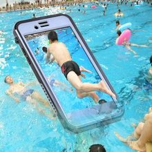 Diving Case for iPhone 7 8 IP68 Waterproof Drop-proof Dust-proof Snowproof Phone Cover for iPhone 7 / 8 Shell(China)