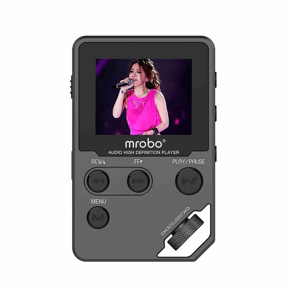 Mrobo C5 New Edition 8G High Definition Entry Level HiFi Lossless Digital Audio Player Portable APE