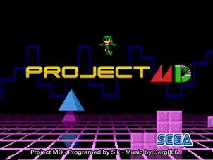 Project 16 bit MD Game Card For Sega Mega Drive For Genesis
