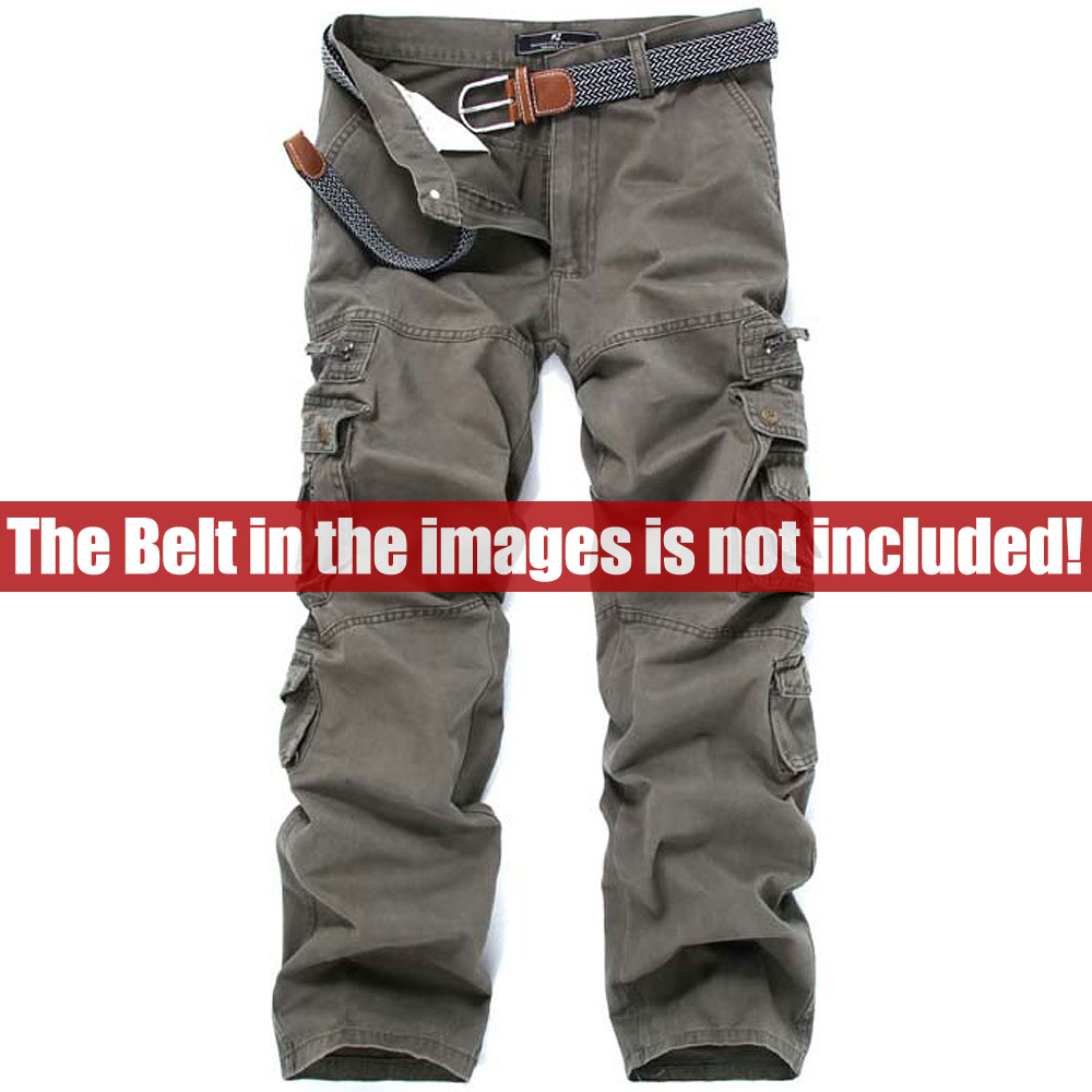 cc26b81c94 Mens Big Size Army Pants Hip Hop washed cotton casual pant male multi pocket  Military cargo pants man's Pockets trousers C455-in Casual Pants from Men's  ...