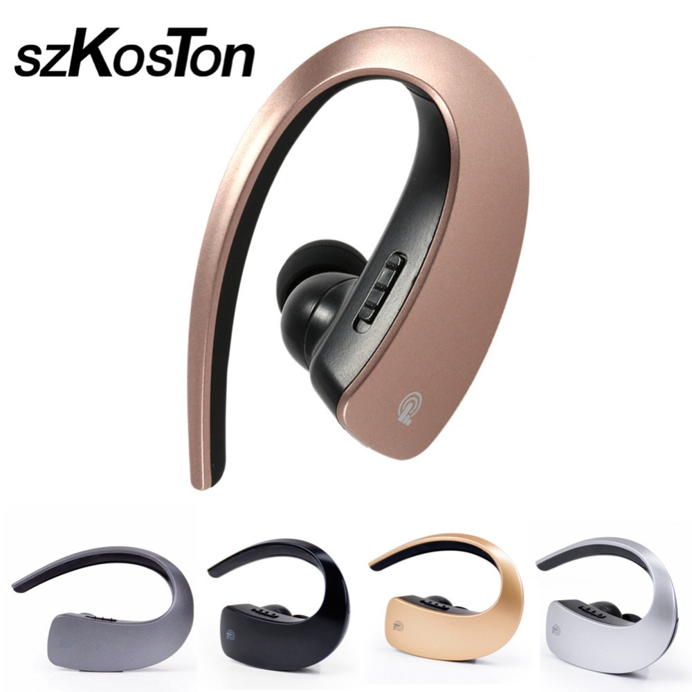 Mini Business Bluetooth 4.1 Headset Wireless Earphone with Mic Headphone Handfree Sport noise canceling for iPhone5 6s 7Samsung hot sale ttlife smart bluetooth 4 1 earphone upgraded wireless sports headphone portable handfree headset with mic for phones
