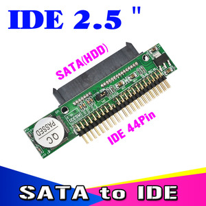 Image 2 - Kebidu 1.5Gb/s 44 Pin SATA 2.5 Female to IDE 2.5 Male HDD Converter Adapter Hard Drive for DVD CD PC  Discounting