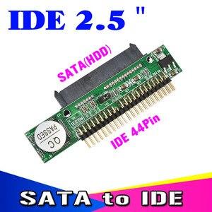 Image 2 - Kebidu Adaptador de disco duro SATA 1,5 hembra a IDE 2,5 macho HDD, 2,5 Gb/s, 44 Pines, para DVD, CD, PC, descontar