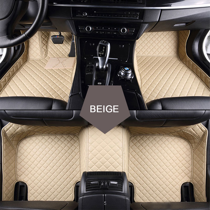 Custom fit car floor mats for Land Rover Discovery 3/4 2 Sport Range Rover Sport Evoque 3D car styling carpet liner custom fit car trunk mat for land rover discovery 3 4 freelander 2 sport range rover sport evoque 3dcarstyling cargo liner hb24