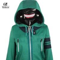 New Anime Blue Tokyo Ghoul Kaneki Ken Hoodie Jacket Cosplay Cosutme