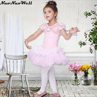 Fancy Princess Dresses Halloween Cosplay For Children Performance Costume Party Show Pink Ballet Skirt