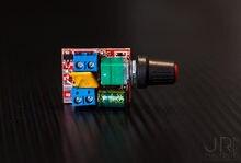 MARSWALLED DC motor Voltaj PWM Hız Kontrol LED Dimmer DC3V 6V 12V 24V 35V 5A LED şerit Işık Mini Fan