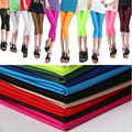 2016 New Fashion Women Leggings Multiple Candy Color Neon Leggings Adventure Time  women's skinny  Workout  Legging For Women