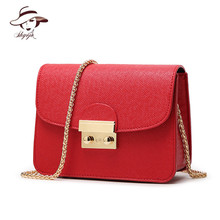 Bag for Women 2018 Small Women Leather Messenger Handbags Clutch Purse Designer Mini Shoulder Bag Ladies Handbag Hot Sale Bolsas