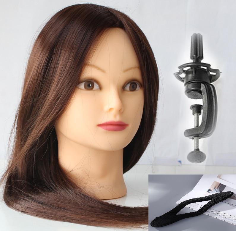 CAMMITEVER femenino del maniquí Cabeza pelo de la peluquería La - Artes, artesanía y costura