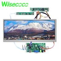 New Origina 12.3 inch 1920X720 HSD123KPW1 A30 LCD screen display Brightness 850cd/m2 with HDMI VGA lvds board for Car display