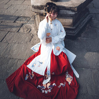 Traditional Clothes Ladies Women Hanfu Clothing Cosplay Costume National Costumes Lady Chinese Stage Dress Show Dancewear DN3445