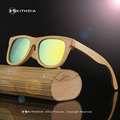 KITHDIA 2016 TOP Brand Designer men wood bamboo Sunglasses New Polarized Wood sunGlasses Original Box Retro Vintage Eyewear