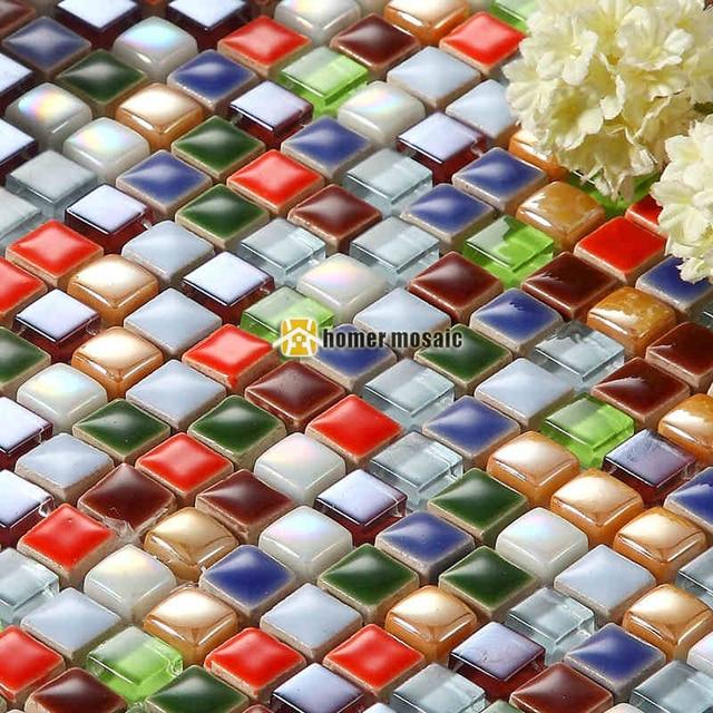 caramelos de colores de cermica pequea perla azulejos de mosaico para sala infantil de bao backsplash
