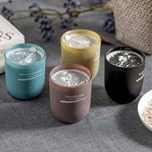 Aromatherapy Scented Candle In Jar Aroma Candle Cup Tin Happy Birthday Deco Mariage Table Velas Perfumadas Home Decoration Fete шапка fete fete fe009cwxrb85