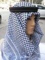 2016 Cabeça Turbantes Cachecol Yashmagh Árabe Muçulmano Em Tamanho de 55 polegada * 55 polegada Shemagh