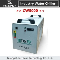 TECNR CW5000 Industry Water Coole Chiller for CO2 Laser Machine Cooling 80W 100W Laser Tube