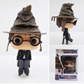 Funko pop 10 cm em caixa original harry potter & snape figura de ação brinquedos