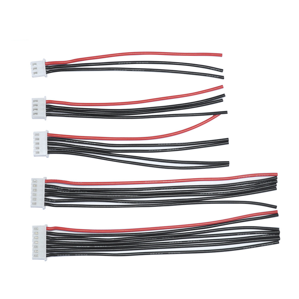 sourcing map 4S LiPo balance Chargeur batterie C/âble Fil connecteur Long 100mm