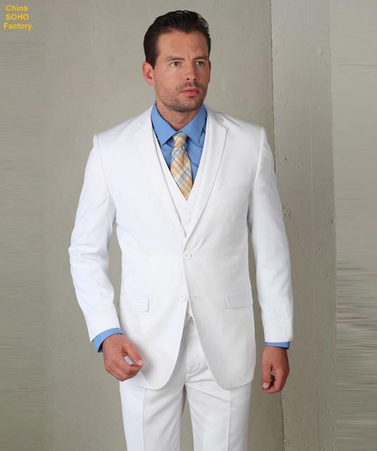 0e0cd8b71 Trajes para hombre con pantalones para hombre trajes de color azul claro de  dos botones con ...