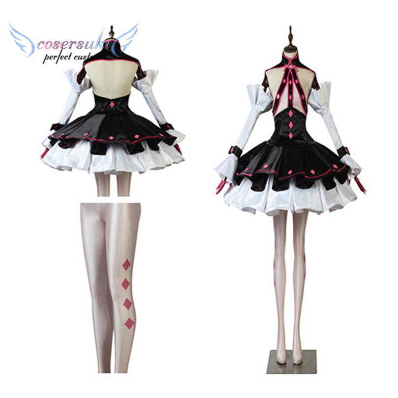 Fate EXTELLA LINK  Lancer Carmilla  Cosplay Costumes Stage Performence Clothes ,Perfect Custom for You !