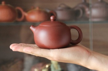 200ml Zhuni Da Hong Pao Tea Pot Chinese Tea Set Yixing Teapot [Bonus 3 Cups] Chinese Tea Ceremony Famous Handmade Gift Packaging