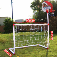 86CM New Arrival Portable Folding Children Kid Goal Football Door Set Basketball Frame Football Gate Outdoor Indoor Toy Sports