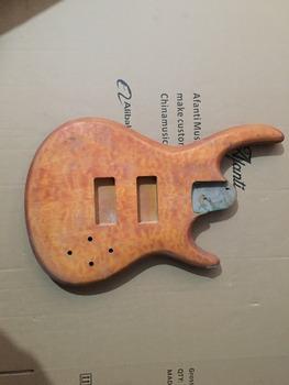 Afanti Music gitara elektryczna DIY korpus gitary elektrycznej (ADK-530) tanie i dobre opinie Beginner Unisex Do profesjonalnych wykonań Nauka w domu LIPA Drewno z Brazylii None Electric guitar Electric guitar body