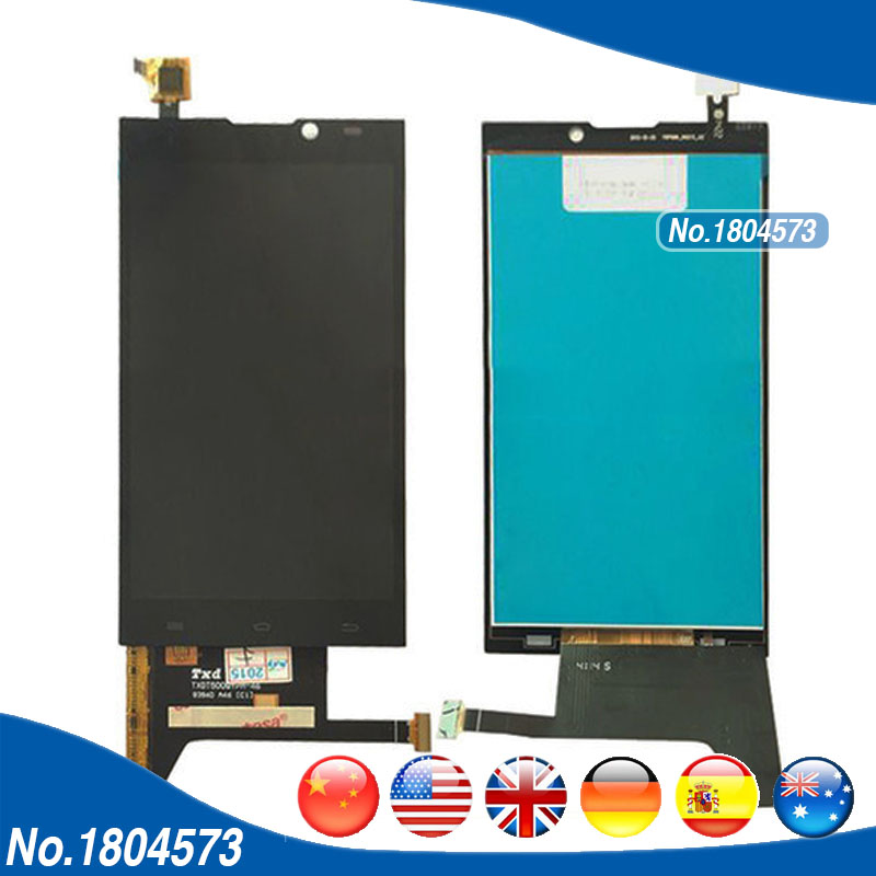 LCD Digitizer For Archos 50b Oxygen LCD Display And Touch Screen Panel Assembly Replacement 1PC/Lot