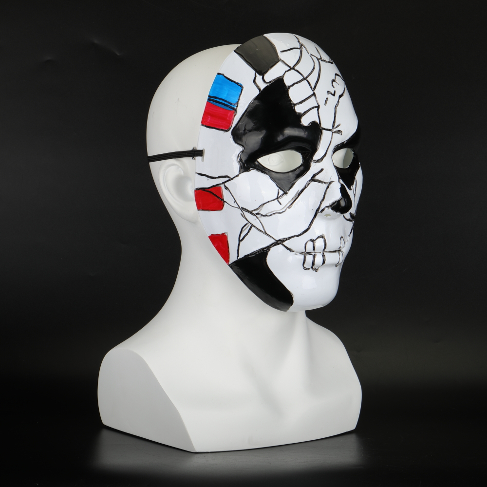 The Punisher 2 Billy Russo Cosplay Mask Plastic Costume Props Halloween Masquerad Mask Unisex Adult Coser  (9)