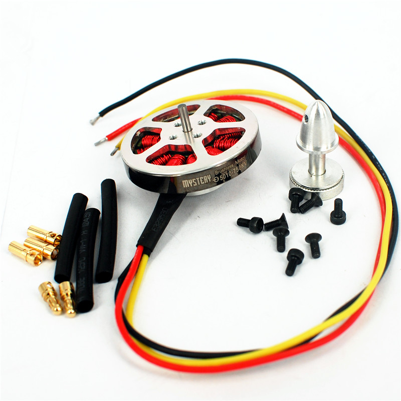 Mystery 5010 400KV <font><b>750KV</b></font> High Torque <font><b>Brushless</b></font> <font><b>Motor</b></font> For RC MultiCopter QuadCopter image
