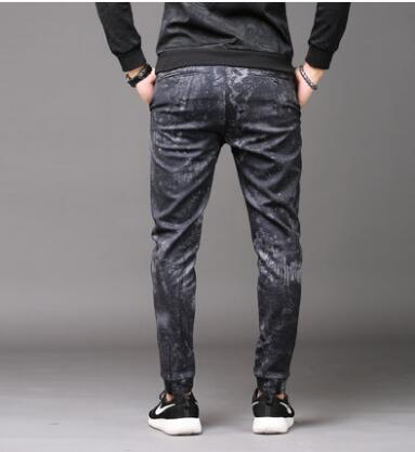 Осень личность модные камуфляжные штаны-шаровары мужские повседневные штаны Хомбре Брюки-Карго Облегающие штаны для мужчин мужские пантал...