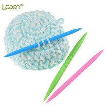Looen 3pcs/set Grooved Cable Stitch Holder Knitting Markers DIY Needle Arts Craft Sewing Tools