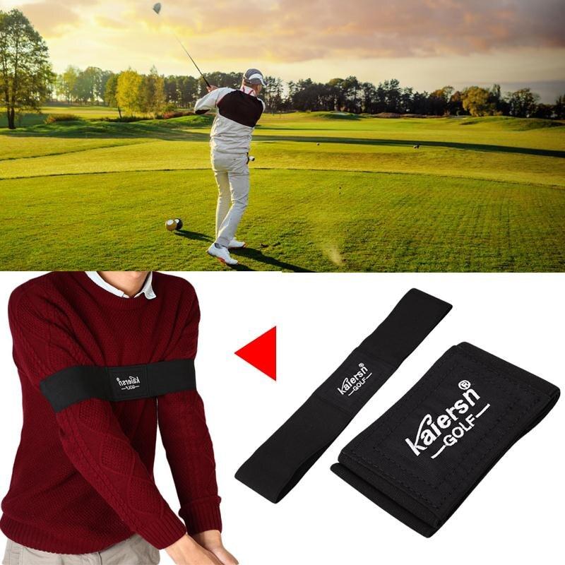 Equipo de golf accesorios de golf brazo motion postura corrección cinturón negro