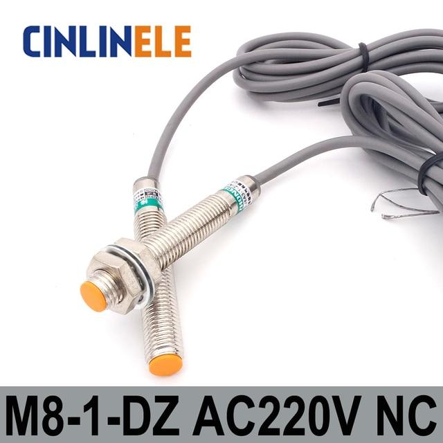 M8 LJ8A3 1 Z/DZ 1mm induktion AC 2 DRAHT NC metall sensor induktiver ...