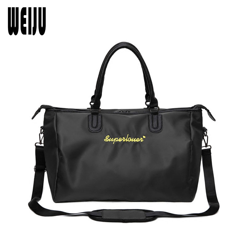 WEIJU New Travel Bag Women Hand Luggage Bag Mens Large Capacity Oxford Travel Bags Water ...