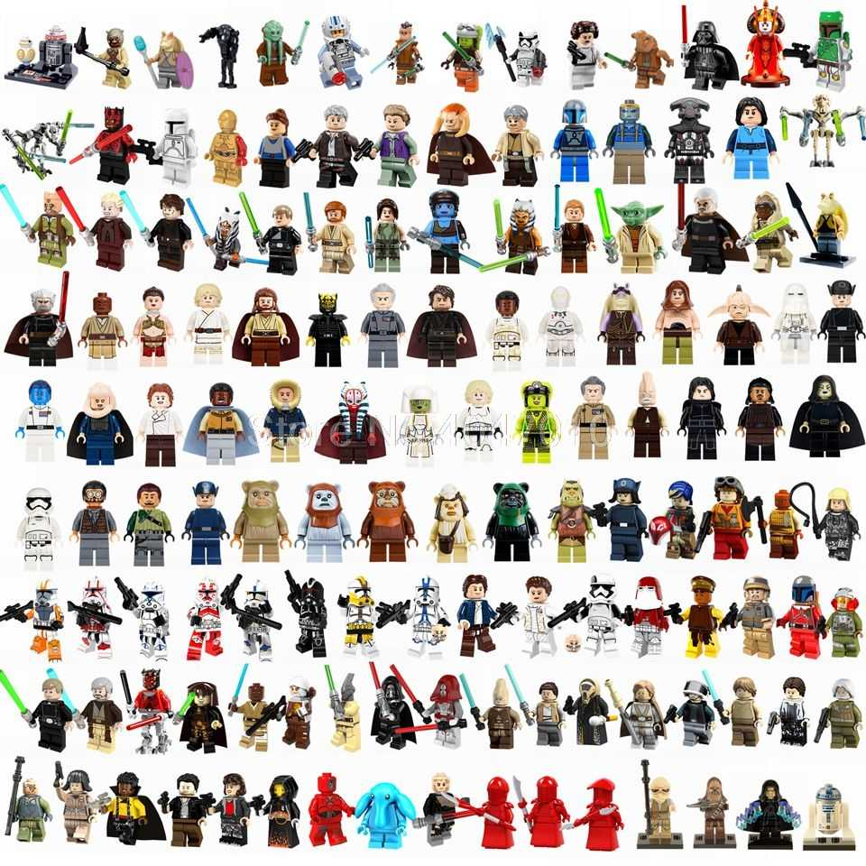 Legoing Star Wars Master Yoda Han Solo Darth Vader Padme Luke Skywalker Rey Leia совместимая игрушка для детей