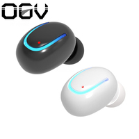 OGV Q13 mono small single earbuds hidden invisible earpiece micro mini wireless headset bluetooth earphone headset for phone