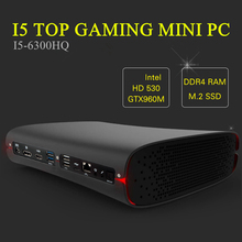 Eglobal Top Gaming Computer Mini PC Intel Quad Core i7 6700HQ i5 6300HQ GTX 960M GDDR5 4GB Ram HDMI+DP+Type C S/PDIF 5G Wifi