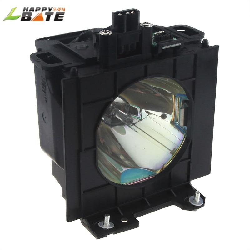 HAPPYBATE ET-LAD57 Compatible Lamp with Housing for PT-D5100 PT-D5700L PT-DW5100 PT-D5700E PT-DW5100 PT-DW5100L replacement projector lamp et lad57 for panasonic pt dw5100 pt d5700l pt d5700 pt d5700e pt d5700el pt d5700u pt d5700ul